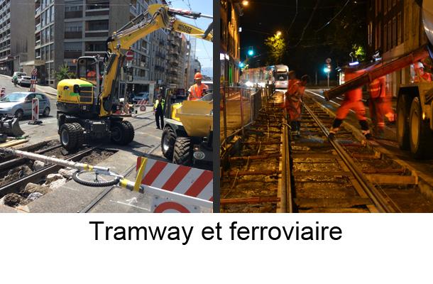 tramway et ferroviaire